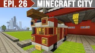 getlinkyoutube.com-Minecraft City - Caminhão de Bombeiros