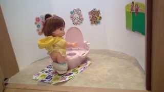 getlinkyoutube.com-ぽぽちゃんのおしゃべりトイレにだれかがいるよ?【新商品】