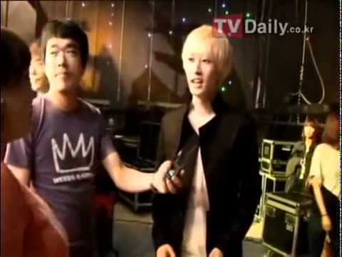 110829 KBS Hello Recording Behind the Scenes (Kyuhyun Donghae Eunhyuk Shindong)