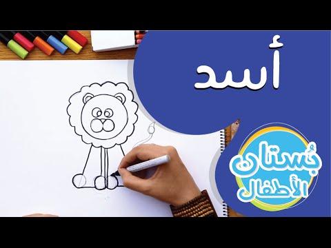 سلسلة رسمة ومعلومة - ح12: كيف أرسم أسد