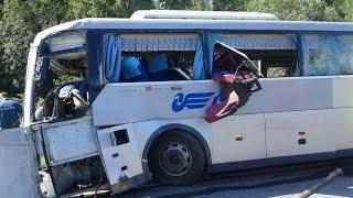 getlinkyoutube.com-Bus Crashes, Tram Crashes, Trolleybus Crashes compilation 2015 Part 5