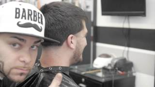 getlinkyoutube.com-Houdinistyle FX 880 clipper gives a haircut to San Diego Padres pitcher Bryan Verbisky