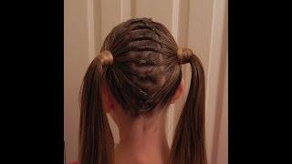 Knotted Part Pigtails /  Apartado de Nudos para Coletas / Bonita Hair Do