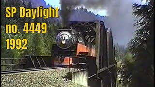 getlinkyoutube.com-Southern Pacific Daylight 4449, 1992
