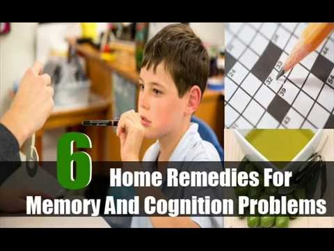 Six Home Remedies For Memory And Cognition Problems