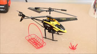 getlinkyoutube.com-Hornet Transport RC Helicopter With Winch! - Gadgets Review Geek