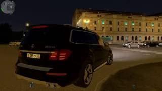 getlinkyoutube.com-City Car Driving 1.5.0 Mercedes-Benz GL63 AMG Часть 2 (1440p 60fps)
