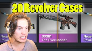 OPENING 20 REVOLVER CASES! *NEW* - CS:GO Case Opening