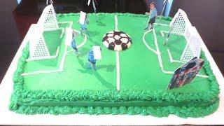 getlinkyoutube.com-Soccer Cake