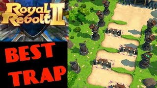 getlinkyoutube.com-ROYAL REVOLT 2 - BEST BASE DESIGN FOR GEMS (trap !)