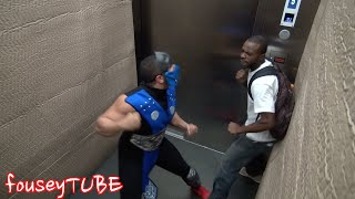 getlinkyoutube.com-MORTAL KOMBAT ELEVATOR PRANK!
