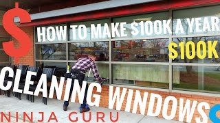 "getlinkyoutube.com-How to Make $100k a Year Cleaning Windows ""Tools, Tips & Techniques"" w Eric Thomas"