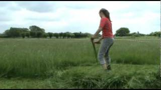 West Country Scythe Festival 2010: part 2 mowing styles