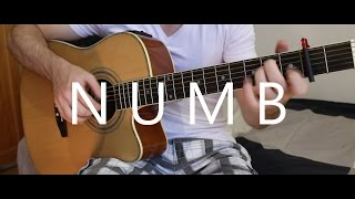 getlinkyoutube.com-Numb - Linkin Park (fingerstyle guitar cover by Peter Gergely)