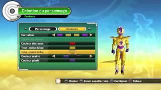 getlinkyoutube.com-Creation Golden Freeza Dragon ball xenoverse FR