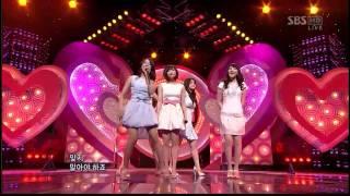 getlinkyoutube.com-[HD] Kara - Honey + Pretty Girl ♡ Goodbye Stage ♡ | 090412