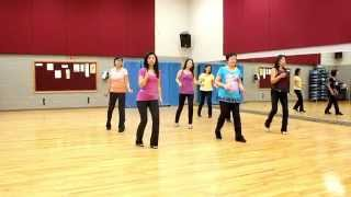 getlinkyoutube.com-Stitches - Line Dance (Dance & Teach in English & 中文)