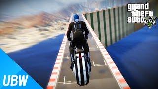 getlinkyoutube.com-울산큰고래' 나가사키 쇼타로를 이용한 개빠른 오토바이 레이스 - GTA5 FAST BIKE PARKOUR [GTA 5 작업탐방]