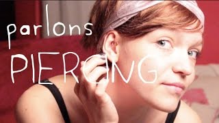 getlinkyoutube.com-Une aventure : mon piercing au cartilage (antihelix)