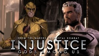 getlinkyoutube.com-Injustice: Gods Among Us - Hunter Zolomon vs Jor-El [1440p] TRUE-HD QUALITY