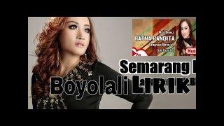 SEMARANG BOYOLALI - RATNA PANDITA karaoke dangdut (Tanpa vokal) cover