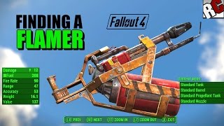 getlinkyoutube.com-Fallout 4 - How to find a Flamer (Flame Thrower Location) Best Weapons Location Guide