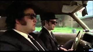getlinkyoutube.com-The Blues Brothers - Opening scene/She caught the katy