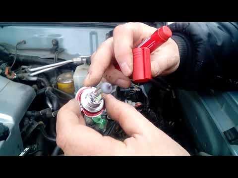 Переделка и доработка фар головного света, Lexus LX470