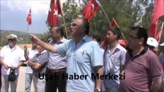 Uşak'ta CHP ve MHP Teşkilatları Akil İnsanların Gelişini Protesto Ettiler!