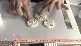 getlinkyoutube.com-Aprenda a técnica que imita cerâmica esmaltada!