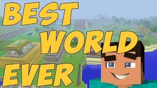 Best Minecraft Survival World (Tour)