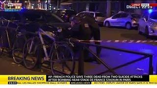 Paris Attack | Francois Hollande On Paris Attacks