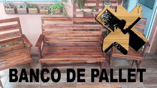 getlinkyoutube.com-Banco de pallet