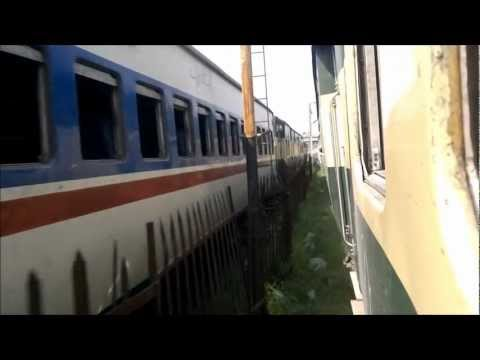 Pakistan Railways: Jaffar Express arriving Lahore Railway Station