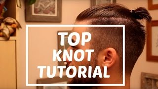 getlinkyoutube.com-Man Bun - Top Knot Tutorial | Zayn Malik Man Bun | Man Bun Hairstyle