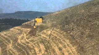 getlinkyoutube.com-New holland tc 5080 hill side 4wd 2011