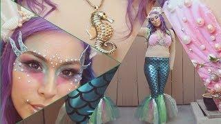 getlinkyoutube.com-Siren / Mermaid Costume - DIY