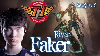 getlinkyoutube.com-SKT T1 Faker RIVEN Top vs Fiora - Patch 5.24 KR | League of Legends
