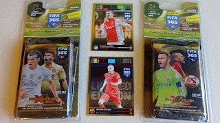 getlinkyoutube.com-Part 3: Panini FIFA 365 2 Multipack: 8 Boosters & Limited Edition Cards Adrenalyn XL