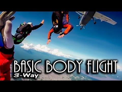 Skydive basic body flight (BBF)