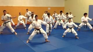 KARATE SETE : Bassaï Daï par le Shotokan Karaté Sète