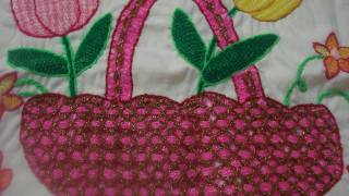 getlinkyoutube.com-Bordado Fantasia Canasta Tulipanes