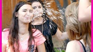 Lesbian Water SPIT Challenge