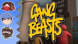 getlinkyoutube.com-Gang Beasts: Revisited - Steam Train