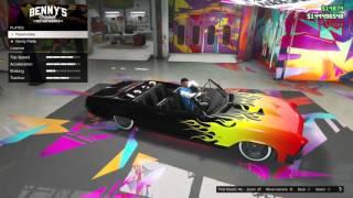 getlinkyoutube.com-Grand Theft Auto Online: Albany Buccaneer Custom Bulid In Benny's Origial Motorworks (Lowrider DLC)
