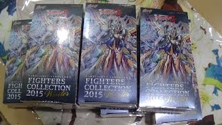 getlinkyoutube.com-Cardfight! Vanguard: Fighters Collection 2015 Winter Speed Unboxing!
