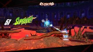 Elsword KR - Trans. Erbluhen Emotion - 9-x - Gameplay with 5 skills