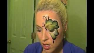 getlinkyoutube.com-Green and Pink Butterfly Tutorial