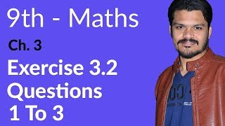 Mathematics Exercise 3.2 Question no 1 to 3 - Mathematics Chapter 3 Logarithms - 9th Class.