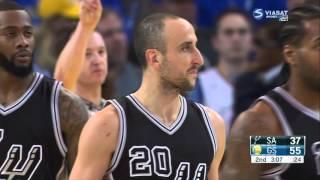 getlinkyoutube.com-Manu Ginobili Full Game Highlight VS Golden State Warriors (8Points,4Rebounds,3Assists )